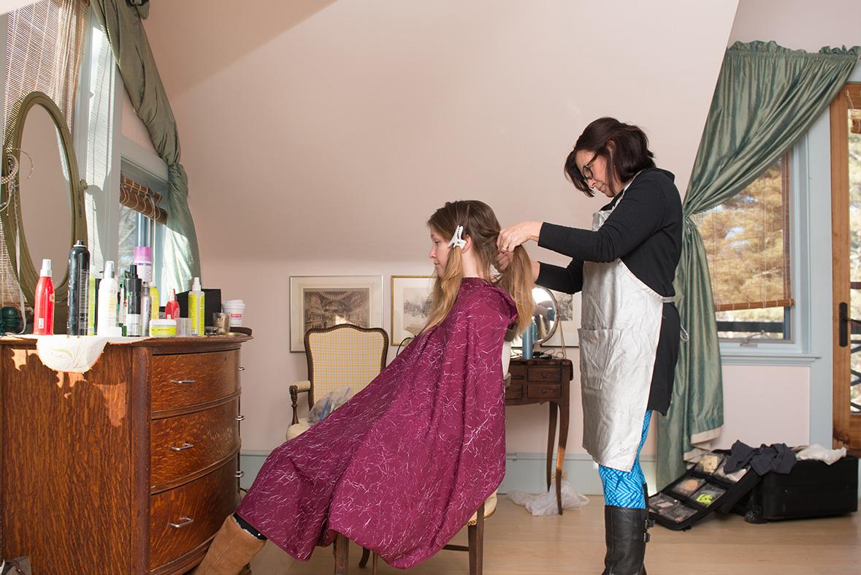 Studio rental studio 105 hair salon for Wedding salon